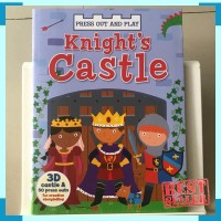 Press out and play knights castle - activity book by autumn publisher