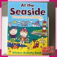 At the seaside press out and make sticker activity book by autumn