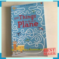 Usborne 100 things to do on plane - buku import anak - buku bermain