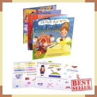 Miles kelly reusable sticker playbook cinderella - activity book -