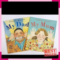 My dad and my mum by anthony browne - buku import anak