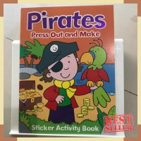 Pirates press out and make sticker activity book by autumn publisher