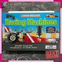 Junior builder racing machines - activity book