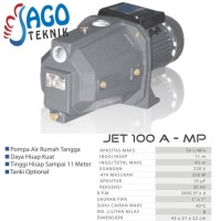 Multipro Semi Jet Pump Air Sumur Dangkal 100 watt - JET 100 A- M
