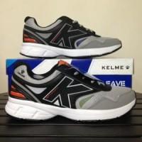 Sepatu Running Lari Kelme Seattle Black Grey 1314039 Or Limited