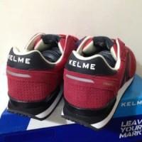 Sepatu Running Lari Kelme Charles Burgundy 46818-63 Ori Limited