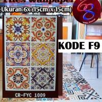 Tile sticker untuk keramik/lantai kode : F9