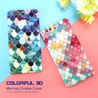 Xiaomi mi6 mermaid slim hard back case cover cute hardcase 3d mi 6