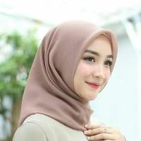 Jilbab segiempat CORNSKIN/hijab segiempat CORNSKIN