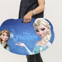 Meja Belajar Lipat Anak Dari Kayu - Frozen - Frozen Fever