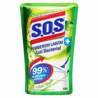 SOS PEMBERSIH LANTAI APPLE REFILL 800 ML