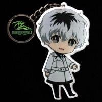 Gantungan Kunci Anime Sasaki Haise Tokyo Ghoul Re Chibi Akrilik