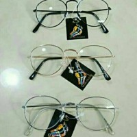 frame kacamata oval pria dan wanita