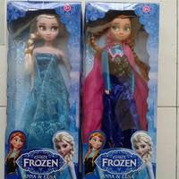 Boneka Barbie Frozen Anna & Elsa