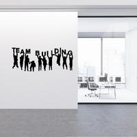 Wall Sticker Team Building Stiker Quotes Hiasan Dinding Kantor Office