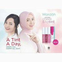 Wardah Everyday Cheek & Lip Tint/Lip Tint Wardah/Wardah Cheek Lip Tint