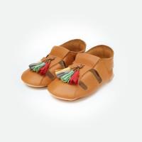 Bora Moccasins Sandals - Caramel (Sepatu Bayi PYOPP)