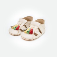 Bora Moccasins Sandals - Ivory (Sepatu Bayi PYOPP)