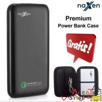 NAXEN Powerbank 10000mAh Quick Charge 3.0 Bonus Pouch