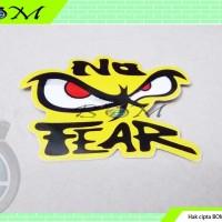 stiker sticker motor mobil gambar no fear