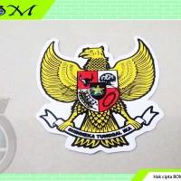 stiker sticker gambar lambang negara burung garuda