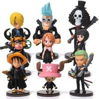 Pajangan Miniatur Action Figure One Piece 9pcs - Model 65