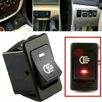 Saklar Lampu Mobil / Tombol Lampu Mobil On Off Dc 12 Volt