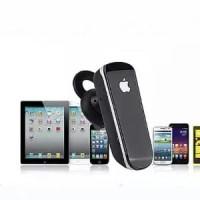 HANDSFREE BLUETOOTH 4.1 HEADSET WIRELESS EARPHONE APPLE IPHONE MURAH