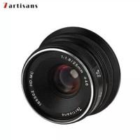 Lensa 7artisans 25MM F1.8 For Fuji Black