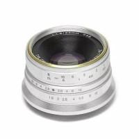 Lensa 7artisans 25MM F1.8 For Fuji Silver