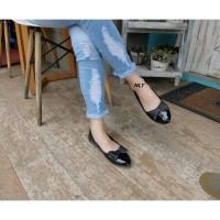 NLT Flat Shoes Glossy Pita Glitter