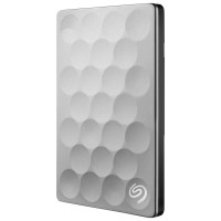 Seagate Backup Plus Ultra Slim 1TB - HD HDD Hardisk Eksternal+puch