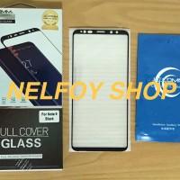 Tempered Glass Samsung Note 9 Plus Kaca Edge Anti Gores Mika Glare S9