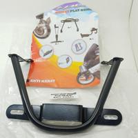 Braket Plat Nomer Nmax Model Kumis Besi Tebal