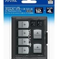 PS Vita Original Hori Slim Card Case (12 Games + 4 Memory Card)