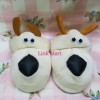 Sandal Boneka Sandal Rumah Sandal Tidur Dewasa Dog Doggie