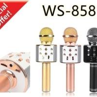 MIC WS-858 Portable Bluetooth Wireless Microphone Speaker Karaoke
