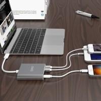 ORICO RCC2A Aluminum Type-C USB Hub with Card Reader