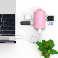 ORICO H4018-U3 Litte Pig HUB 3Ports USB 3.0 HUB with TF+SD Card Reader