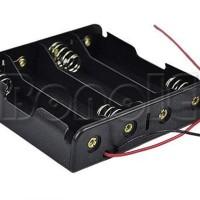 Battery Holder Baterai Case Batere Box (Kotak Batre) Dengan Kabel