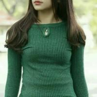 Sweater Bolda Cewek - Atasan Wanita Lengan Panjang - Baju Rajut Cewe
