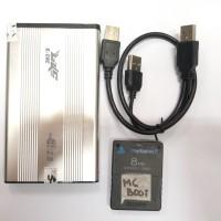 Hdd PS2 USB 120GB + MC BOOT FREE FULL GAME GARANSI