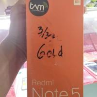 XIAOMI REDMI NOTE 5 PRO 3/32 RAM 3GB ROM 32GB-GRS. RESMI TAM- GOLD