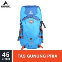 Eiger Rhinos Rucksack 45L - Blue / Tas Gunung Pria