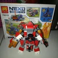Brick lego nexo soldiers merk LELE/kw