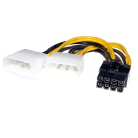 Kabel Power VGA 8 pin Adapter 2 molex to 8 pin / 8pin PCIE / PCI-E