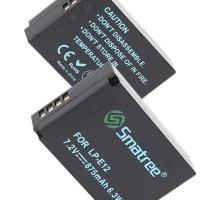 Smatree Baterai Canon LP-E12, LPE12 (EOS M, M2, M10, M50, M100 100D)