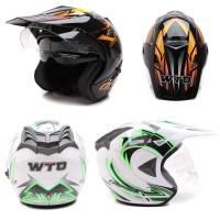 WTO Helmet Pro-Sight Cross - Double Visor