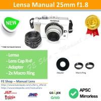 Fujian 25mm F1.8 II - U Olympus, Lumix, Sony Nex, Fuji X, EOS M, Nikon