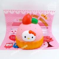 Squishy Hello Kitty Jumbo Cupcake HK